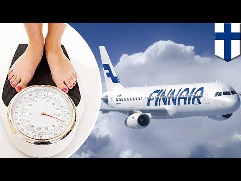 Craig Stevens - Airline begins weighing passengers before flight at  airport