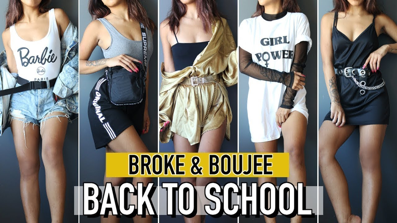 *CHEAP* STYLING TIPS FOR BASIC BACK TO SCHOOL OUTFITS! | Fashion | Nava Rose