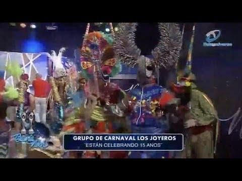 Grupo de carnaval Los Joyeros celebran 15 años y de que manera