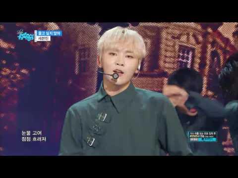 【TVPP】 SEVENTEEN - Don't Wanna Cry, 세븐틴 - 울고 싶지 않아 @ Show Music core
