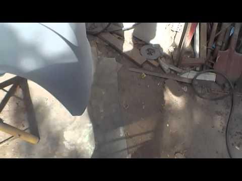 ремонт бампера Фольцваген поло
