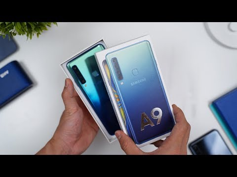 Rp7.999 JUTA! Unboxing Samsung Galaxy A9 Indonesia!