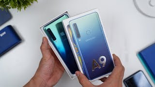 Rp7.999 JUTA! Unboxing Samsung Galaxy A9 Indonesia!