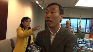 Phỏng vấn anh Bình Nguyễn về chuyến thăm của ĐS Ted Osious tại quận Cam