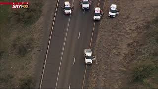 FREEWAY STANDOFF: One quickly surrenders, one puts up struggle on I-17 in AZ (FNN)