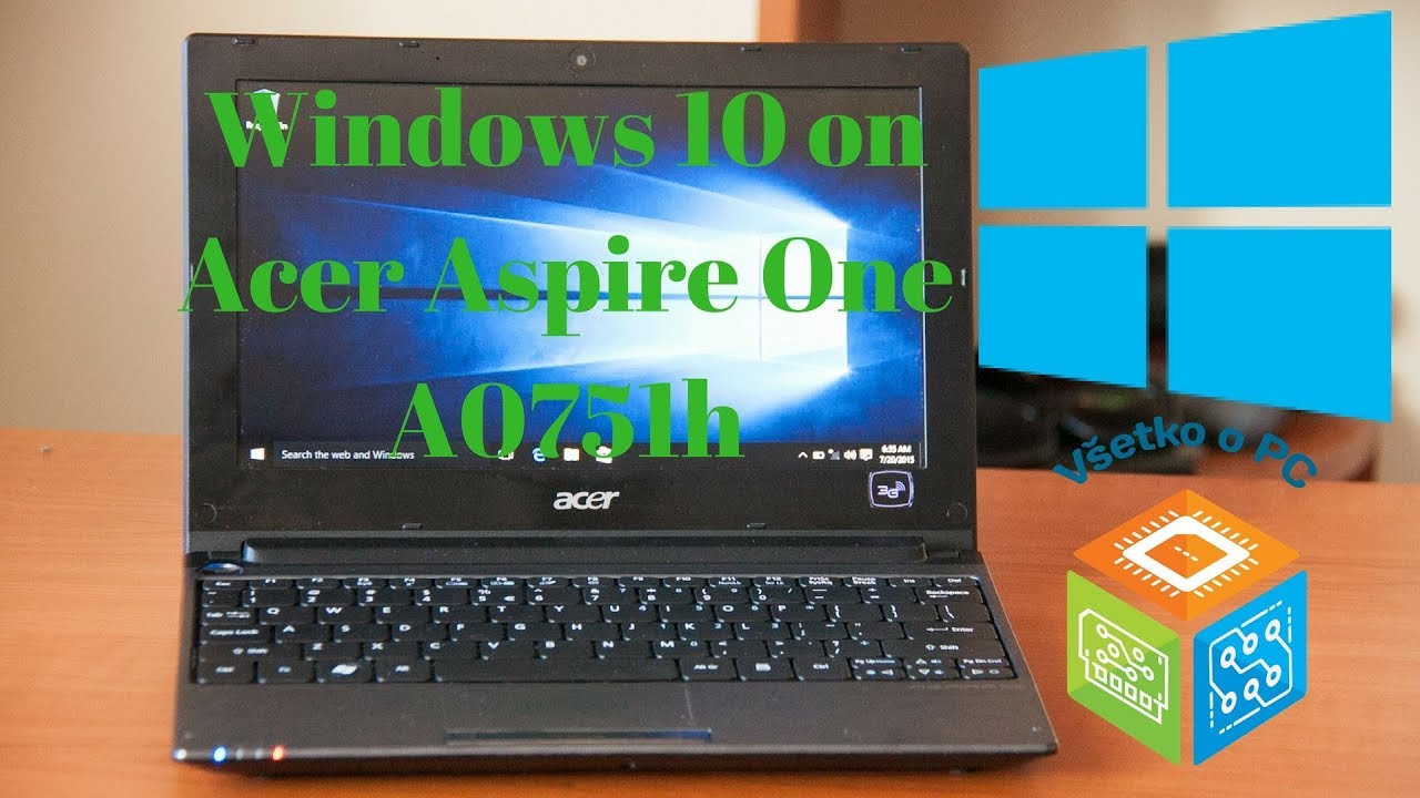 download driver acer aspire one 756 windows 10