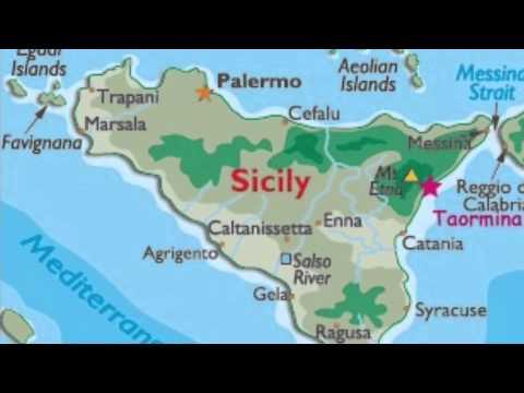 Cartina Geografica Sicilia Taormina.La Sicilia Lessons Tes Teach