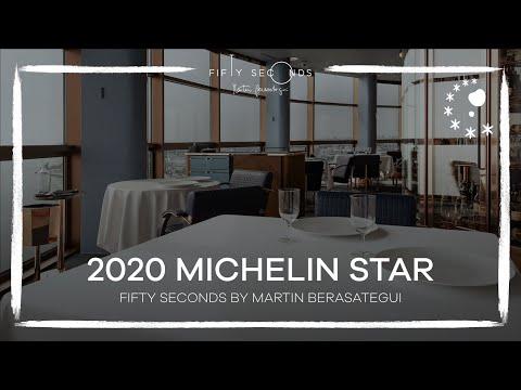 FIfty Seconds By Martin Berasategui - 2020 Michelin Star Restaurant