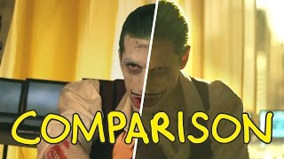 Suicide Squad Trailer - Homemade Side by Side Comparison
