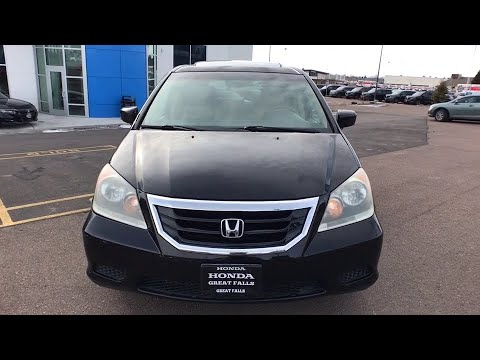 Used Cars Kalispell >> 2009 Honda Odyssey Great Falls Missoula Helena Billings Kalispell Mt 9b010758