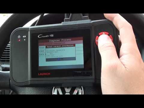 Launch CRP129 VIII Diagnose Engine Light VW Golf P0304 P0420 CR PLUS
