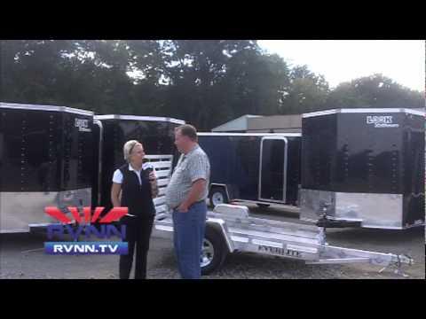 Steve Hartman, LOOK Trailers at Elkhart RV Dealer Open House