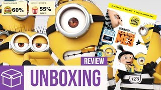 Despicable Me 3 Blu Ray Unboxing + Review (Digital HD Giveaway) streaming
