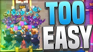 NEW BEATDOWN META!! Easy Golem Deck for Grand Challenges - Clash Royale