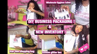 Entrepreneur Life Ep 2 | NEW INVENTORY & DIY BUSINESS PACKAGING ! | Ft Allove Hair