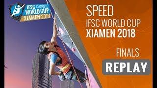 IFSC Climbing World Cup - Xiamen 2018 - Speed - Finals