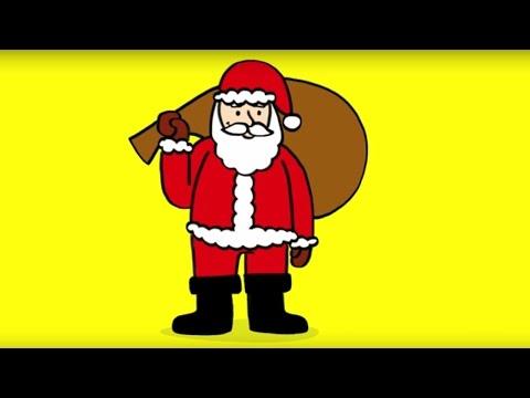 Apprendre à Dessiner Un Père Noël How To Draw A Santa Claus