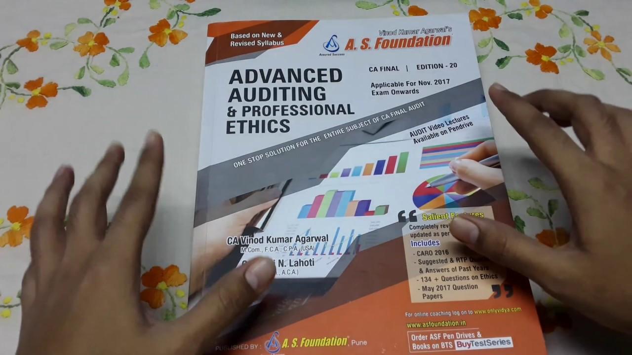 CA Final Audit book by CA Vinod Kumar Agarwal - Review (3 5 stars/ 5 stars)