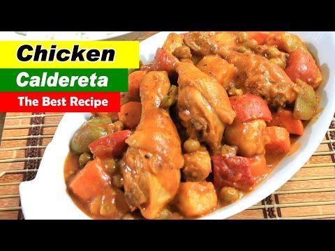 Chicken Caldereta Recipe | Kalderetang Manok Recipe