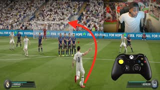 One of Sharky's most viewed videos: FIFA 17 - MASTERING THE NEW FREE KICKS!!