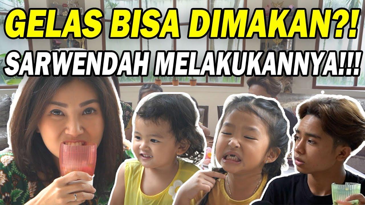 The Onsu Family - ASMR Jelly sampai ke GELASNYA. BISA DIMAKAN?!