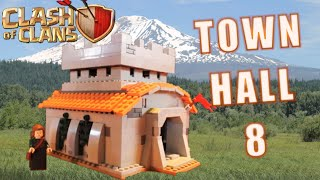 "LEGO Clash of Clans ""Town Hall 8"" MOC Review"
