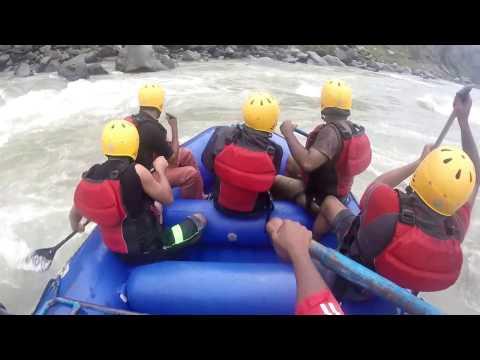 River rafting and diving in BEAS, Kullu, Himachal Pradesh