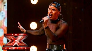 Download Seann Miley Moore's show must go on | Auditions Week 1 | The X Factor UK 2015 Mp3 and Videos