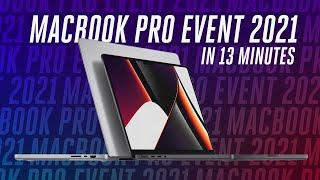 MacBook Pro event in 13 minutes
