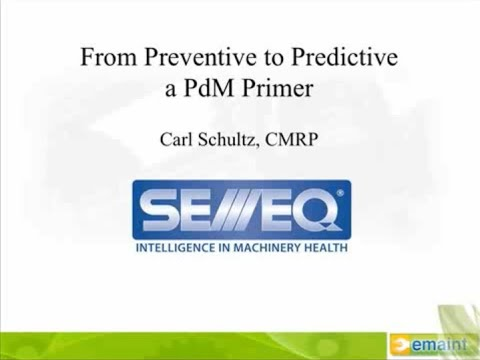 How to Start a Predictive Maintenance (PdM) Program | eMaint Video
