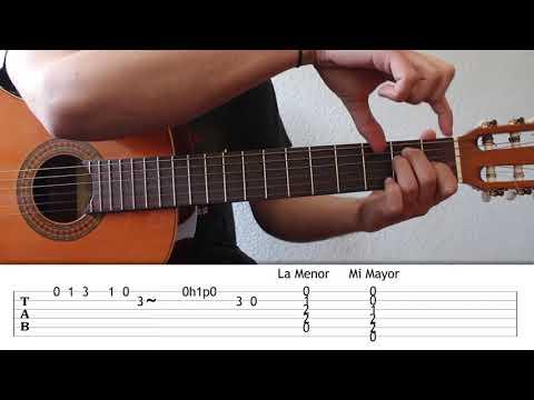 Punteo Flamenco de Introducción a La Malagueña. Curso Punteo 26