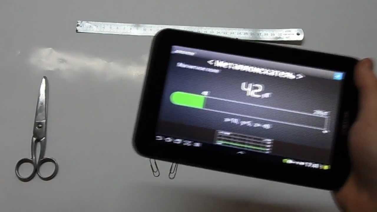 схема детектора электропроводки в стенах