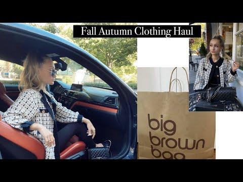 Fall/ Winter Collective Clothing Haul / Zara, Club Monaco, UO, Beginning Boutique + MORE!