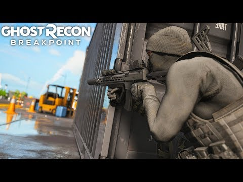 Ghost Recon Breakpoint INTENSE SCORPION EVO3 CQC WARFARE! Ghost Recon Breakpoint Free Roam - Part 52
