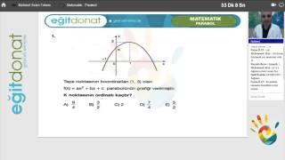 Uzaktan Eğitim LYS Konusu PARABOL Dersi (Matematik)