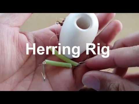 How To Tie A Herring Fishing Rig - Super Simple Hook Setup