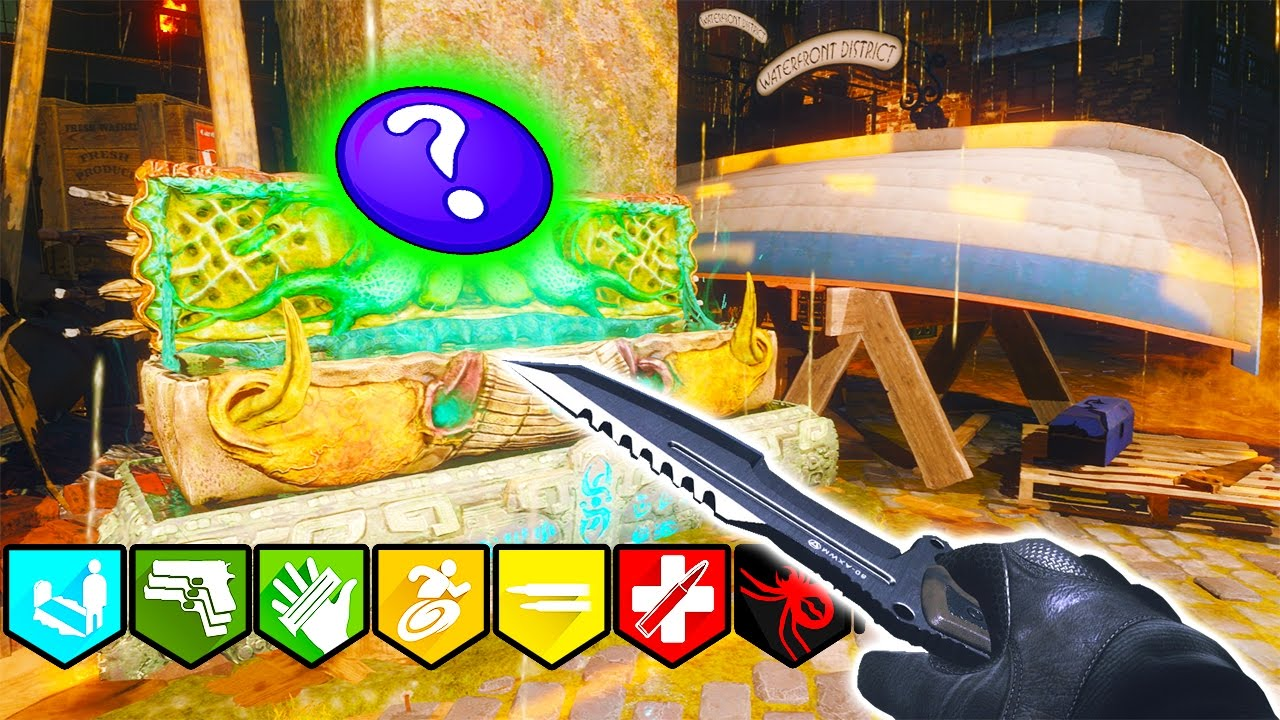 SHADOWS OF EVIL | TWO BOX CHALLENGE | SOLO EASTER EGG FLAWLESS! BLACK OPS 3  ZOMBIES