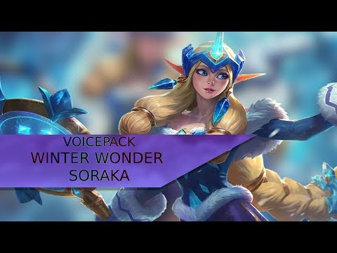 Winter Wonder Soraka Voicepack [Skin+]