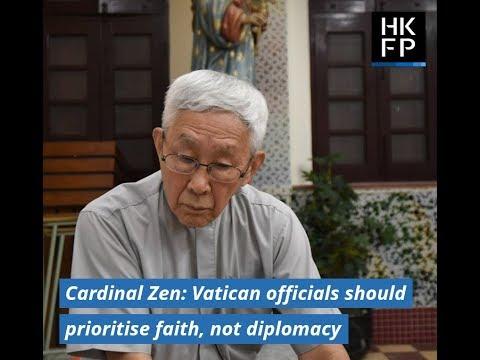 Hong Kong's Cardinal Zen: Vatican officials should prioritise faith, not diplomacy