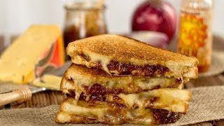Ron's Jarlsberg Onion Jam Grilled Cheese