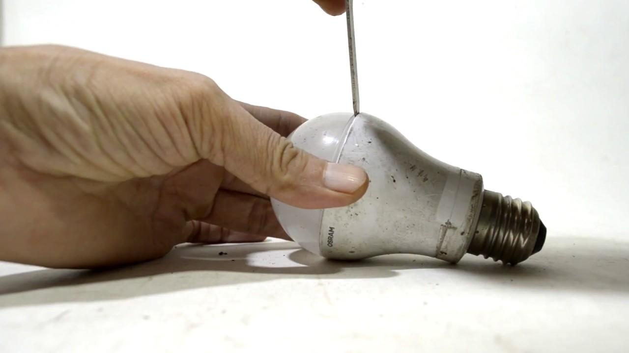 Cara Membuka Lampu Led Hati Bila Tutup Terbuat Dari Kaca 3 Watt Hannochs Premier