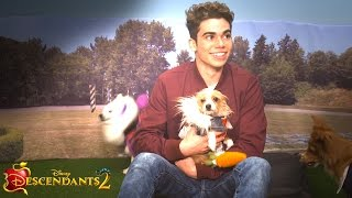 Cameron Boyce Plays with Puppies! | Dogscendants 🐶| Descendants 2