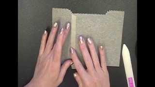 Stamping T!   Filter Paper Mini Treat Bag