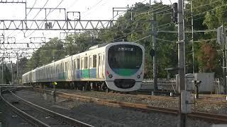 西武鉄道38117F 各停本川越行 小平発車