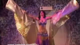 Samira - russian bellydancer (Dance with wings) - www.samira-dance.ru