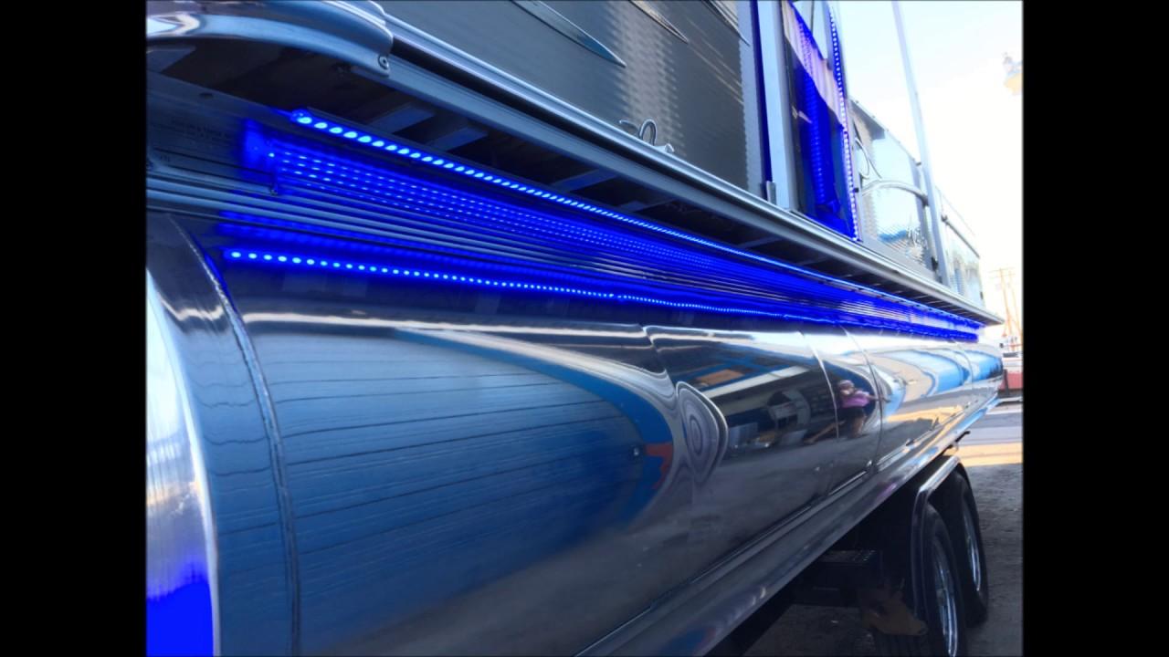 Blue Led Boat Lights