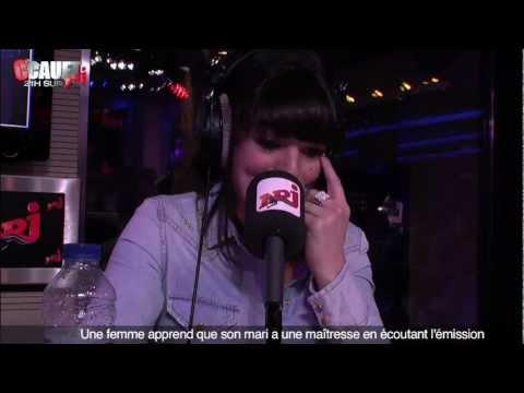 Une femme apprend que son mari a une maîtresse en écoutant l'émission - C'Cauet sur NRJ