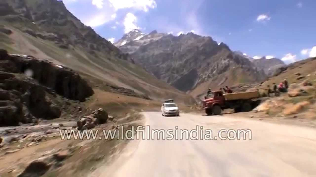 Driving from Dras to Matayen village in Kargil district - Part 2