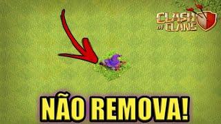 NÃO REMOVA!! O NOVO OBSTÁCULO DO CLASH OF CLANS!!