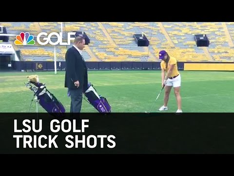 LSU Golf Trick Shots | Golf Channel